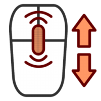 Иконка колесика мыши