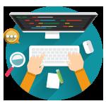Иконка веб разработчик