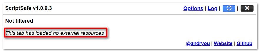 Включите ScriptSafe в Yandex Browser