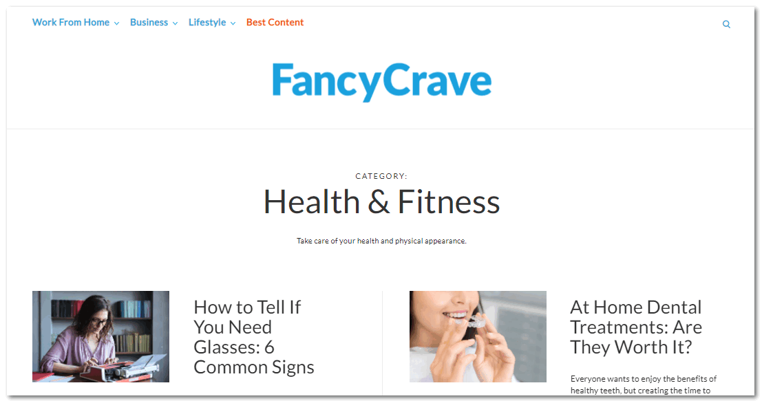 Интерфейс Fancycrave