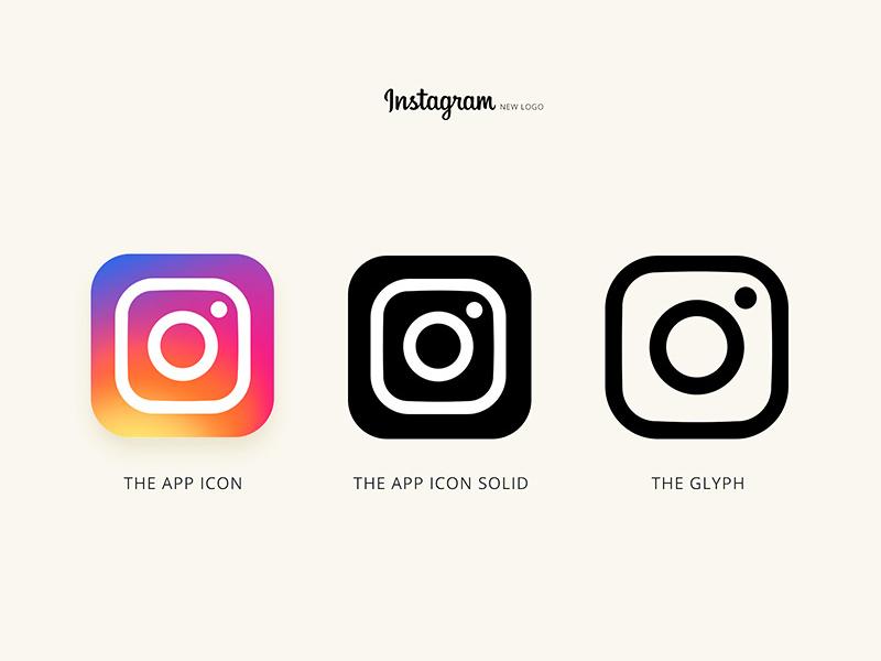 instagram logo psd